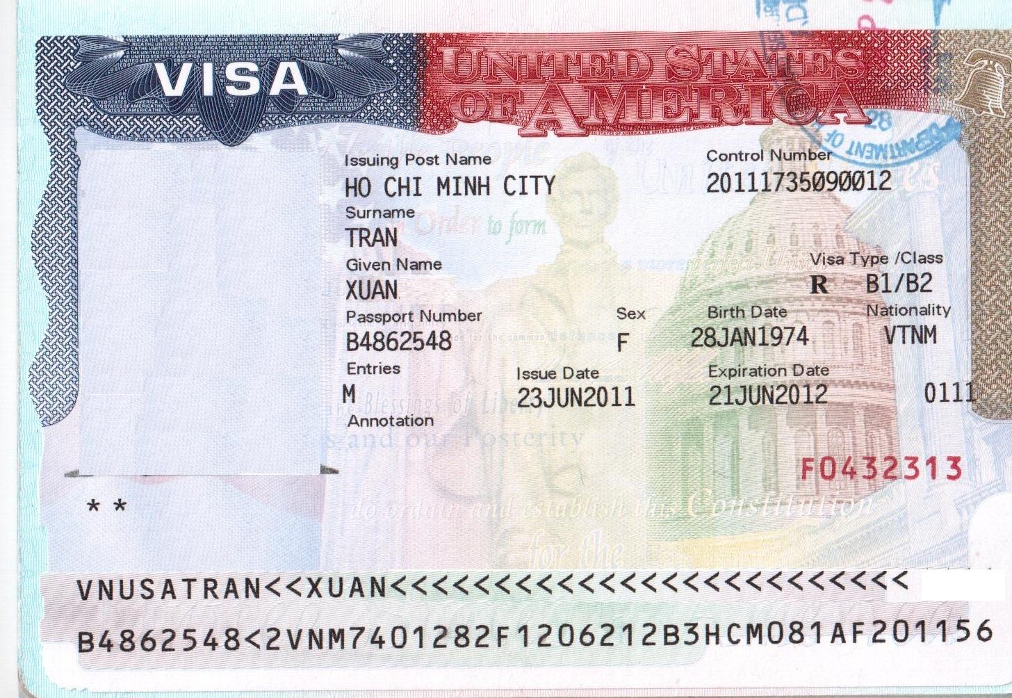 Giá dịch thuật công chứng hồ sơ Visa Mỹ USA